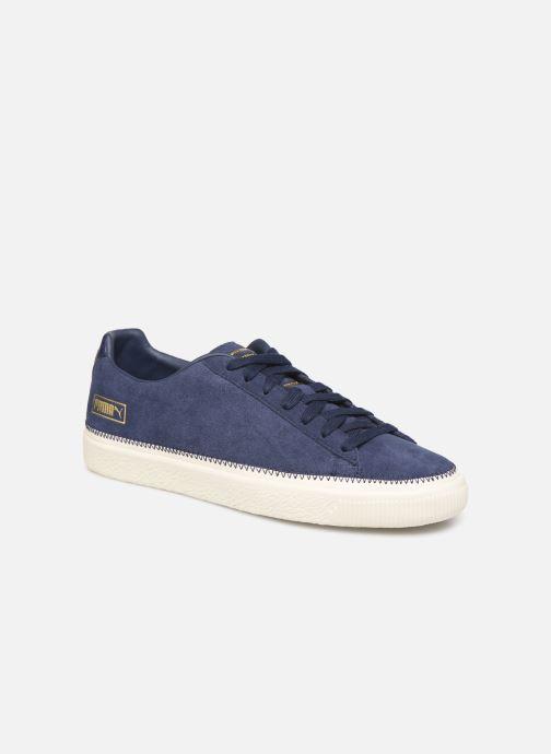 Sneakers Puma Suede Trim Blå detaljeret billede af skoene