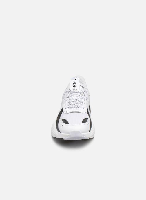 Baskets Puma Rs-X Core Blanc vue portées chaussures