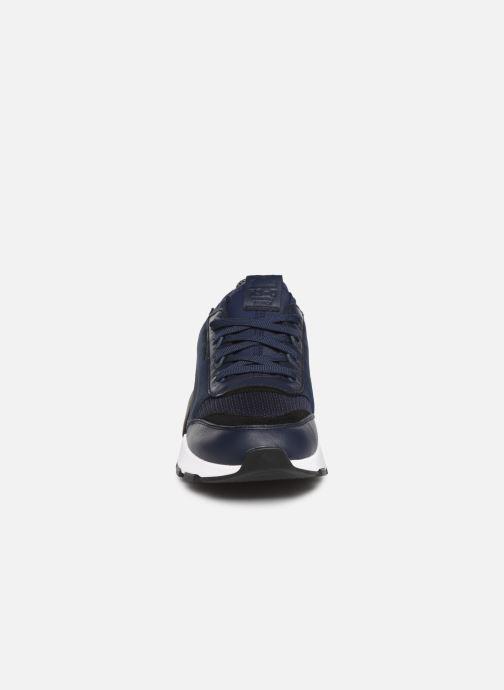 Baskets Puma Rs-0 Core Bleu vue portées chaussures