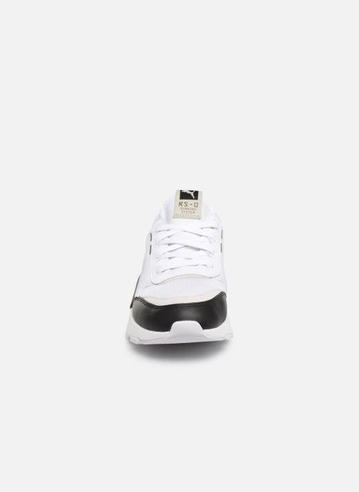 Baskets Puma Rs-0 Core Blanc vue portées chaussures