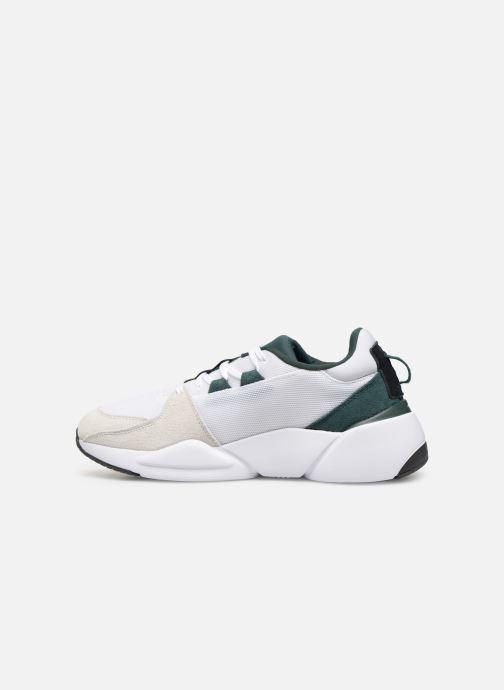 Sneakers Puma Zeta Suede Hvid se forfra