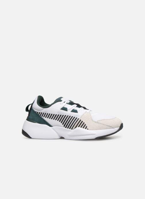 Sneakers Puma Zeta Suede Hvid se bagfra
