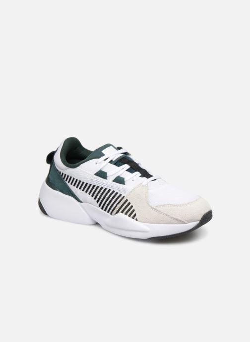 Sneakers Puma Zeta Suede Hvid detaljeret billede af skoene
