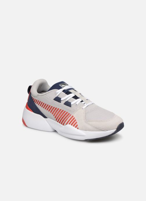 save off c14d8 fbdd9 Trainers Puma Zeta Suede Grey detailed view  Pair view