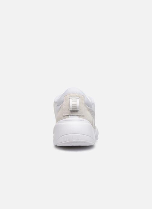 Baskets Puma Zeta Suede Blanc vue droite
