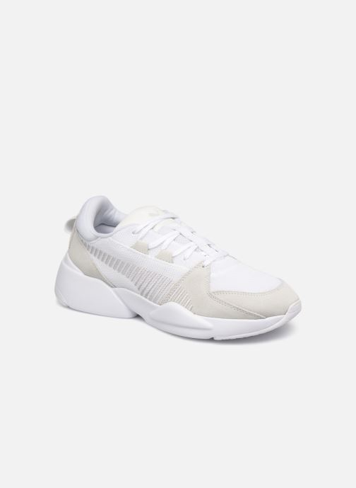 low priced 45e0d 4d45e Trainers Puma Zeta Suede White detailed view  Pair view