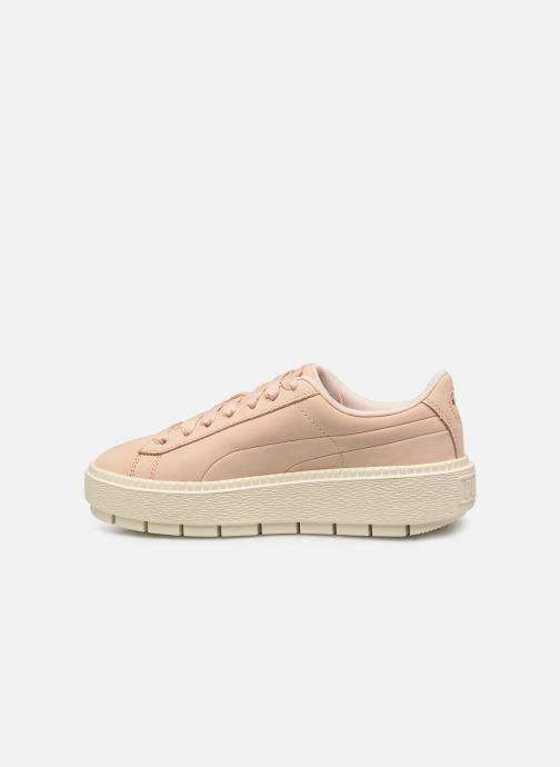 Sneaker Puma Platform Trace Soft rosa ansicht von vorne