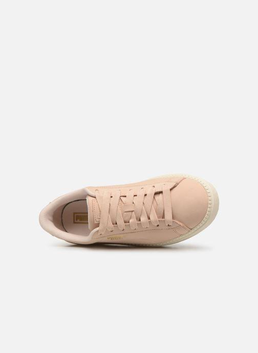 Sneaker Puma Platform Trace Soft rosa ansicht von links