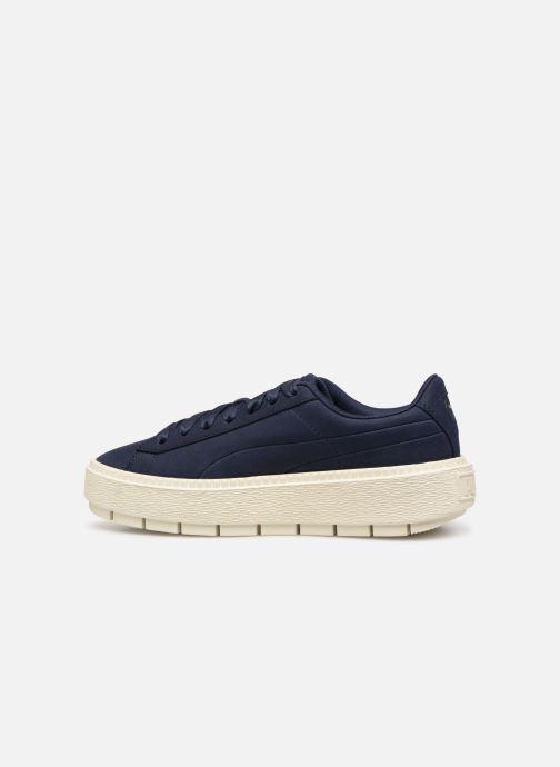 Sneaker Puma Platform Trace Soft blau ansicht von vorne