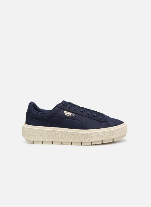 Sneaker Puma Platform Trace Soft blau ansicht von hinten