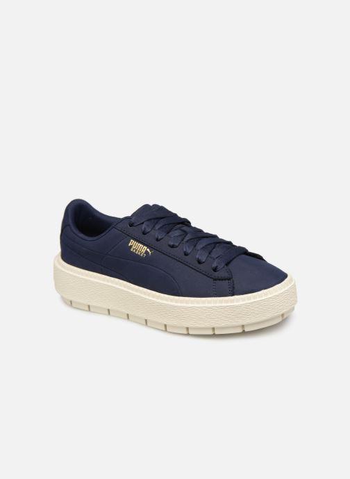 Sneaker Puma Platform Trace Soft blau detaillierte ansicht/modell