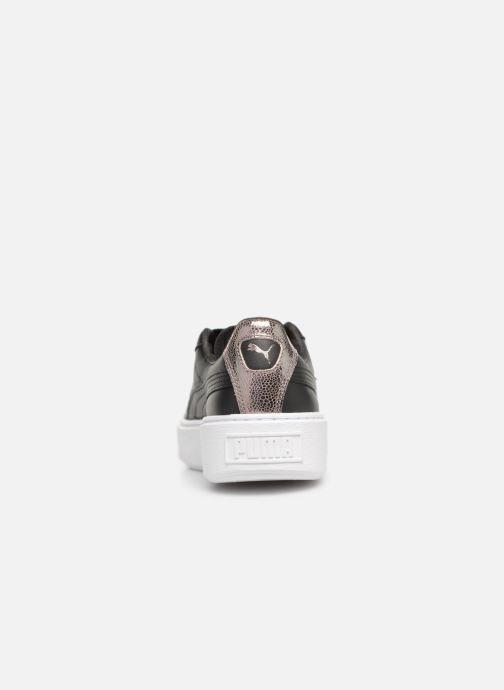 Sneakers Puma Basket Platform Opulence Sort Se fra højre