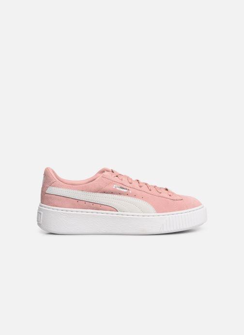 Sneaker Puma WNS Suede Creepers rosa ansicht von hinten