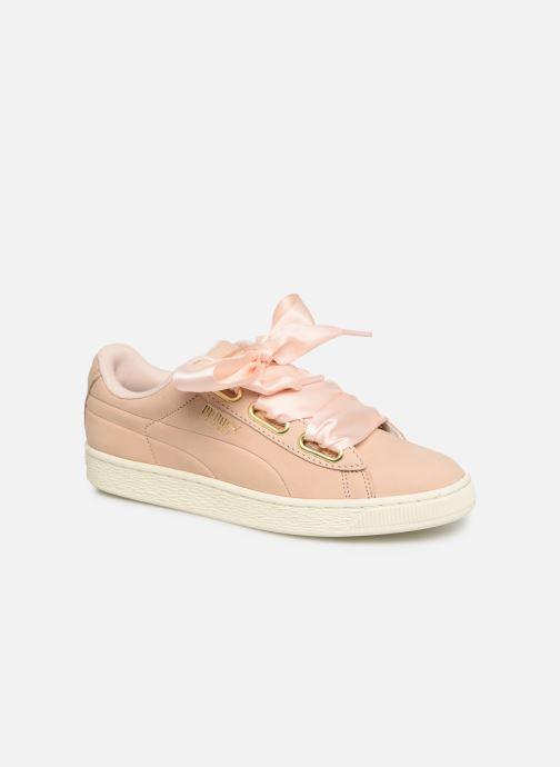 Sneakers Puma Basket Heart Soft Rosa immagine 3/4