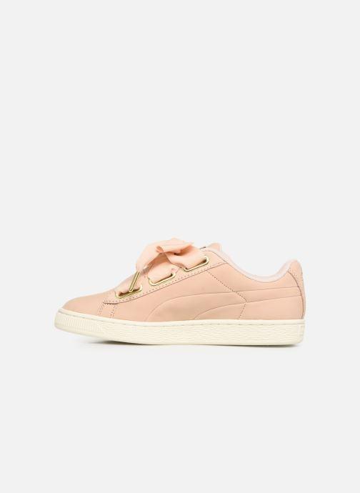 Sneakers Puma Basket Heart Soft Roze voorkant
