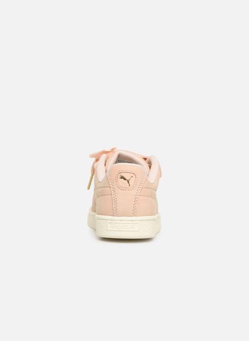 Sneakers Puma Basket Heart Soft Roze rechts