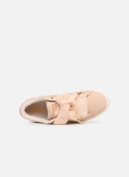 Sneakers Puma Basket Heart Soft Roze links