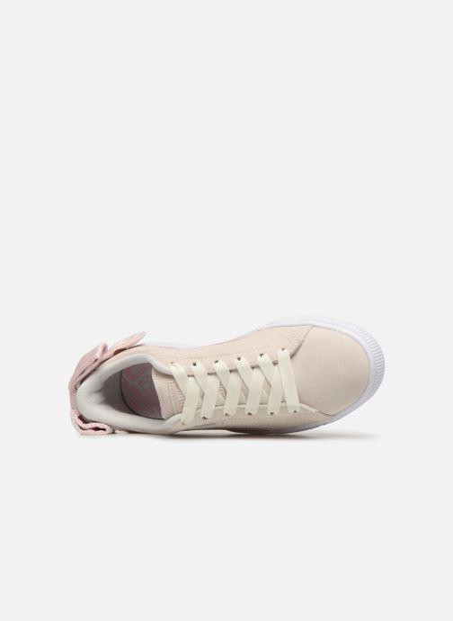 Sneakers Puma Suede Bow Hexamesh Grigio immagine sinistra