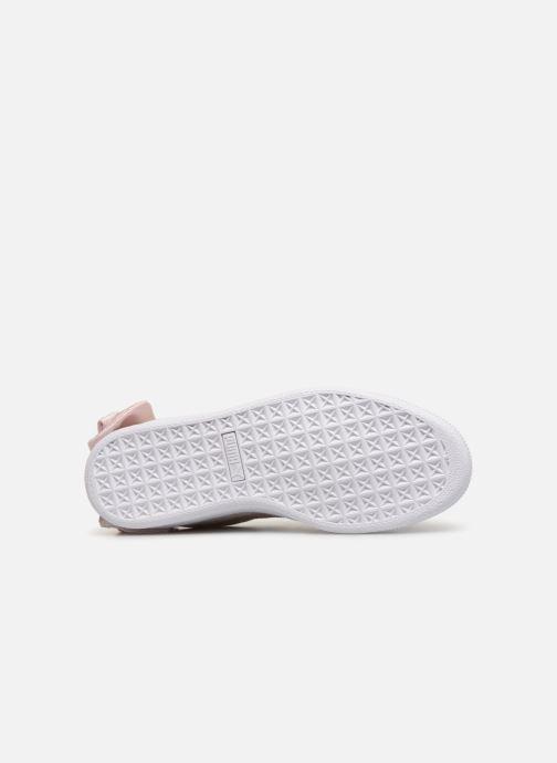 Sneakers Puma Suede Bow Hexamesh Grijs boven