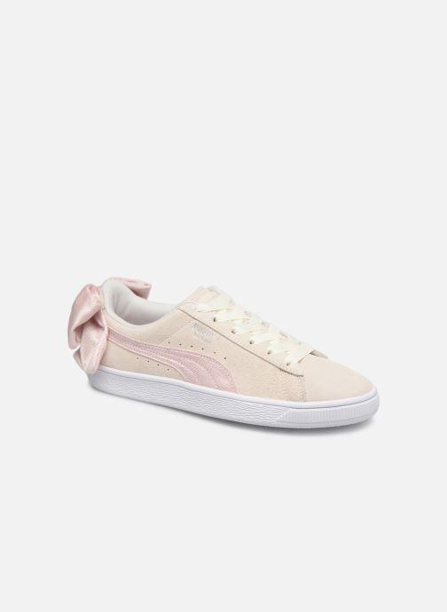 Sneakers Puma Suede Bow Hexamesh Grijs detail