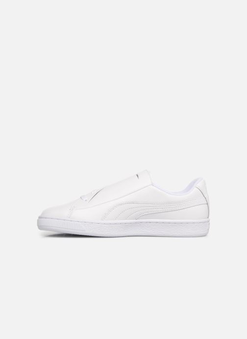Baskets Puma Basket Crush Amboss Blanc vue face