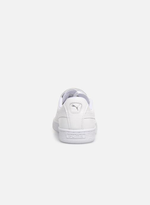 Sneakers Puma Basket Crush Amboss Wit rechts