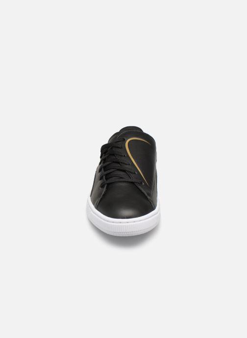Sneaker Puma Basket Crush Amboss schwarz schuhe getragen