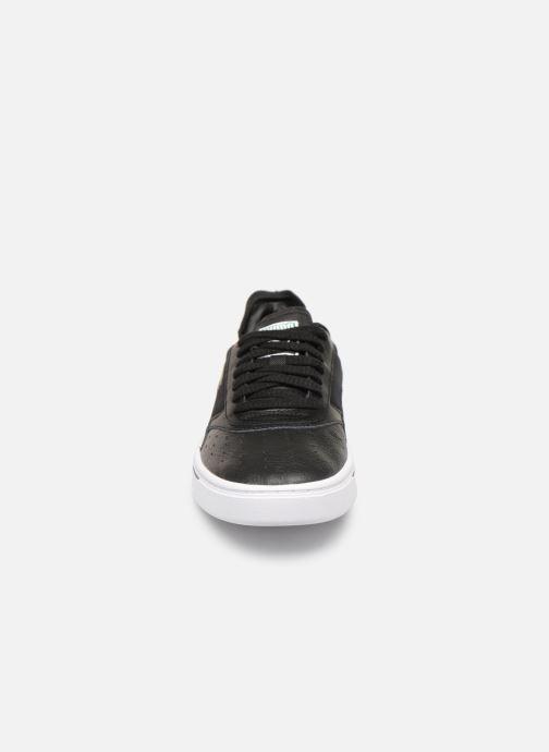 Sneaker Puma Cali-0 schwarz schuhe getragen