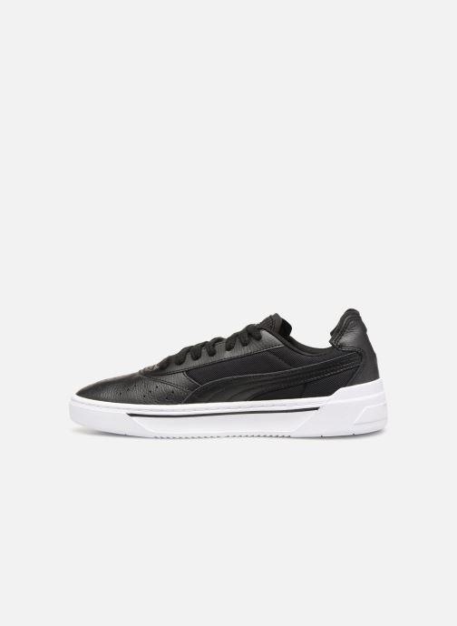 Sneaker Puma Cali-0 schwarz ansicht von vorne