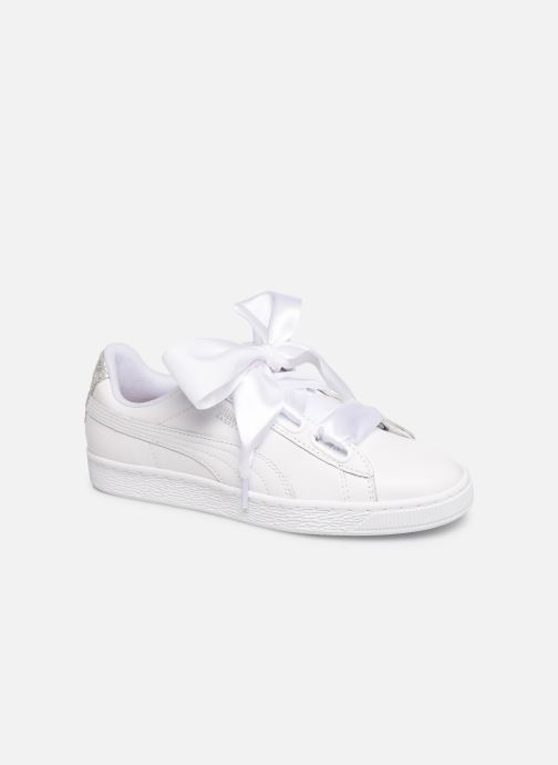Baskets Puma Basket Heart Bio Hacking Blanc vue 3/4