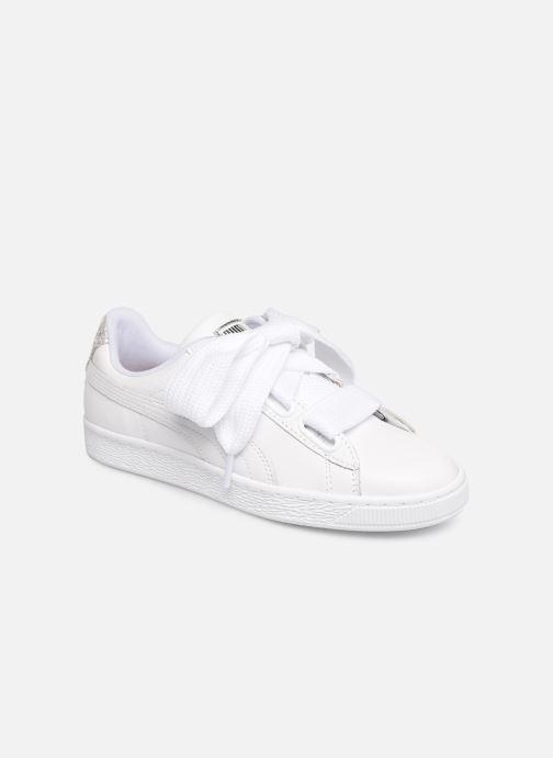 Sneakers Puma Basket Heart Bio Hacking Bianco vedi dettaglio/paio
