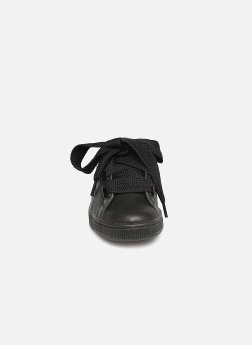 Baskets Puma Basket Heart Bio Hacking Noir vue portées chaussures