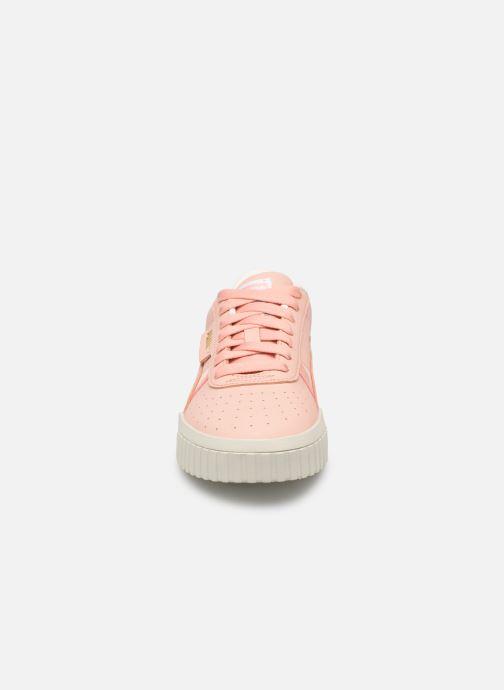 Sneaker Puma Cali Nubuck Wn'S rosa schuhe getragen