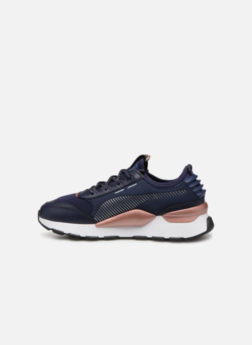 Baskets Puma Rs 0 Trophy Bleu vue face