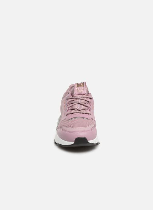 Baskets Puma Rs 0 Trophy Violet vue portées chaussures
