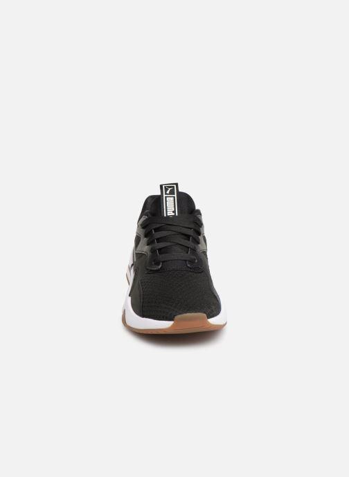 Baskets Puma Nova 90'S Block Wn'S Noir vue portées chaussures