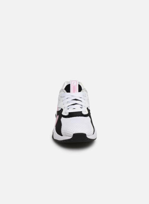 Baskets Puma Nova 90'S Block Wn'S Blanc vue portées chaussures