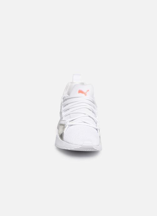 Baskets Puma Muse Maia Bio Hacking Blanc vue portées chaussures