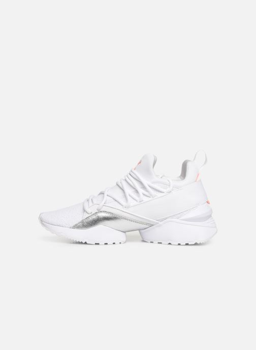 wholesale dealer 39cf3 0b87b Trainers Puma Muse Maia Bio Hacking White front view
