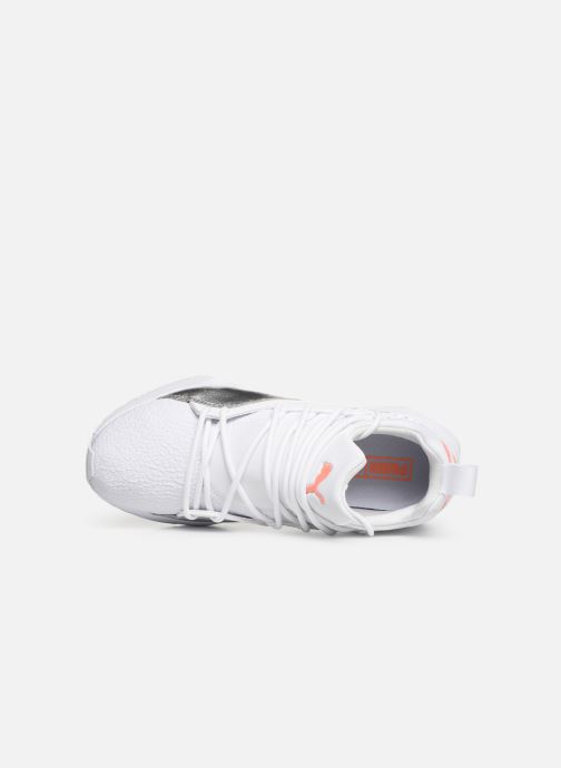 new style ec486 ab524 Trainers Puma Muse Maia Bio Hacking White view from the left