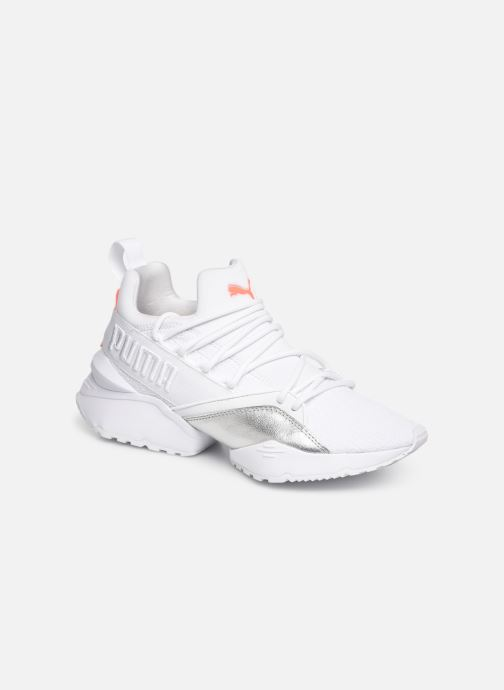 Baskets Puma Muse Maia Bio Hacking Blanc vue détail/paire