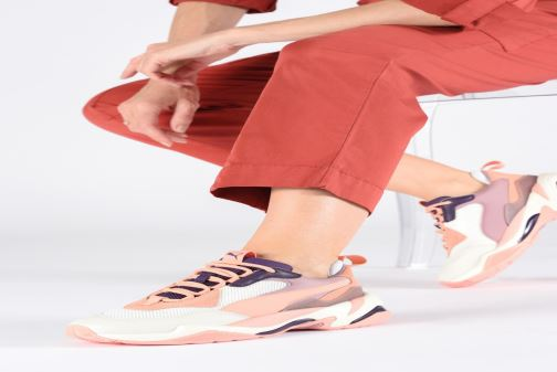 Sneakers Puma Thunder Spectra W Rosa immagine dal basso