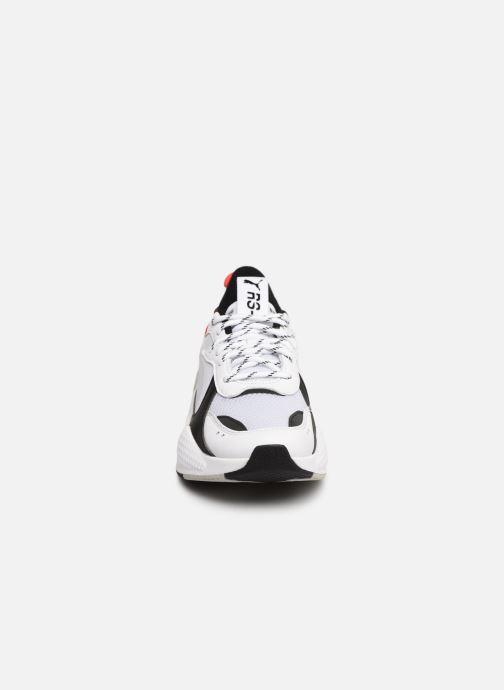 Baskets Puma Rs-X Tracks Blanc vue portées chaussures