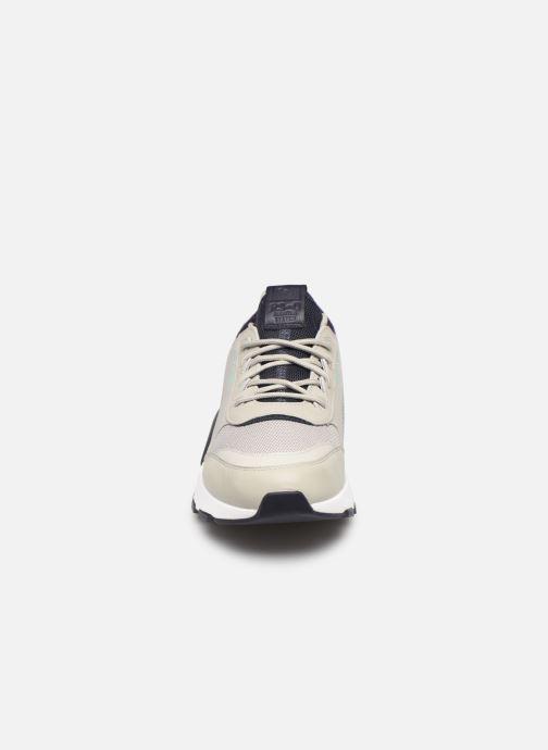 Baskets Puma Rs-0 Tracks Gris vue portées chaussures