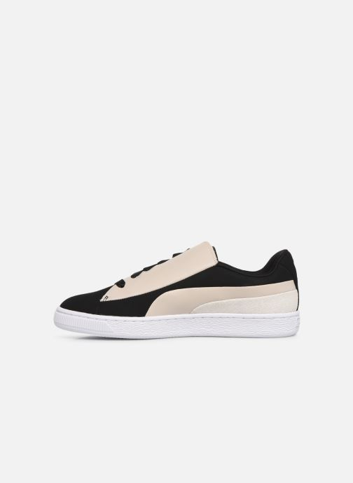 Sneakers Puma Basket Crush Paris Nero immagine frontale