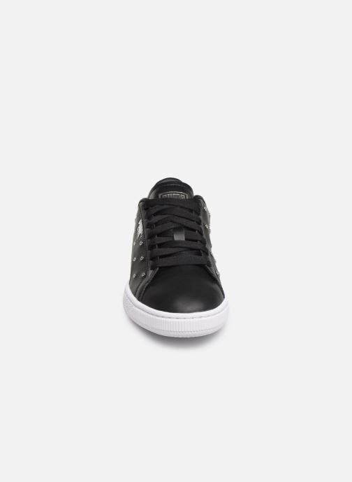 Baskets Puma Basket Studs Noir vue portées chaussures