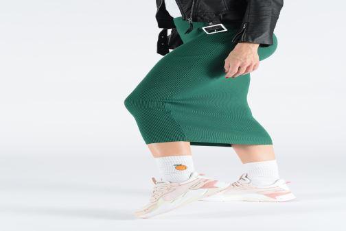 Sneaker Puma Rs-X Tracks rosa ansicht von unten / tasche getragen