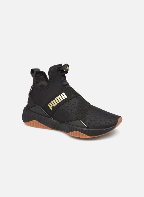 Baskets Puma Defy Mid Sparkle Wns Noir vue détail/paire