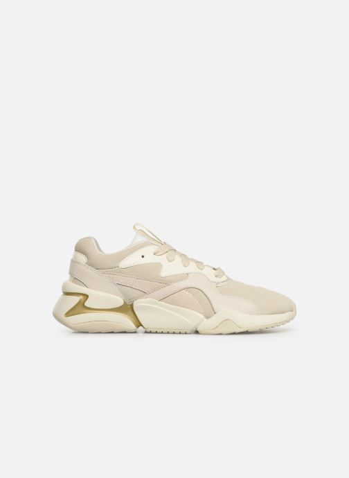 Sneakers Puma Nova Pastel Grunge Wn's Beige achterkant