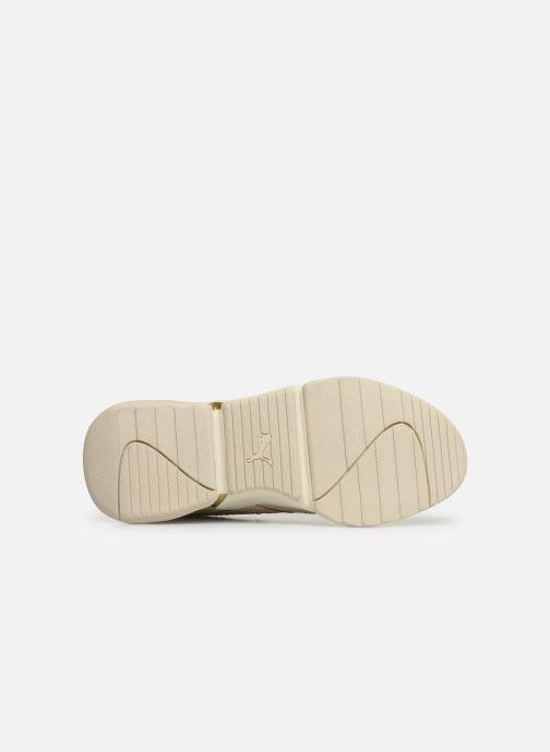 Sneaker Puma Nova Pastel Grunge Wn's beige ansicht von oben